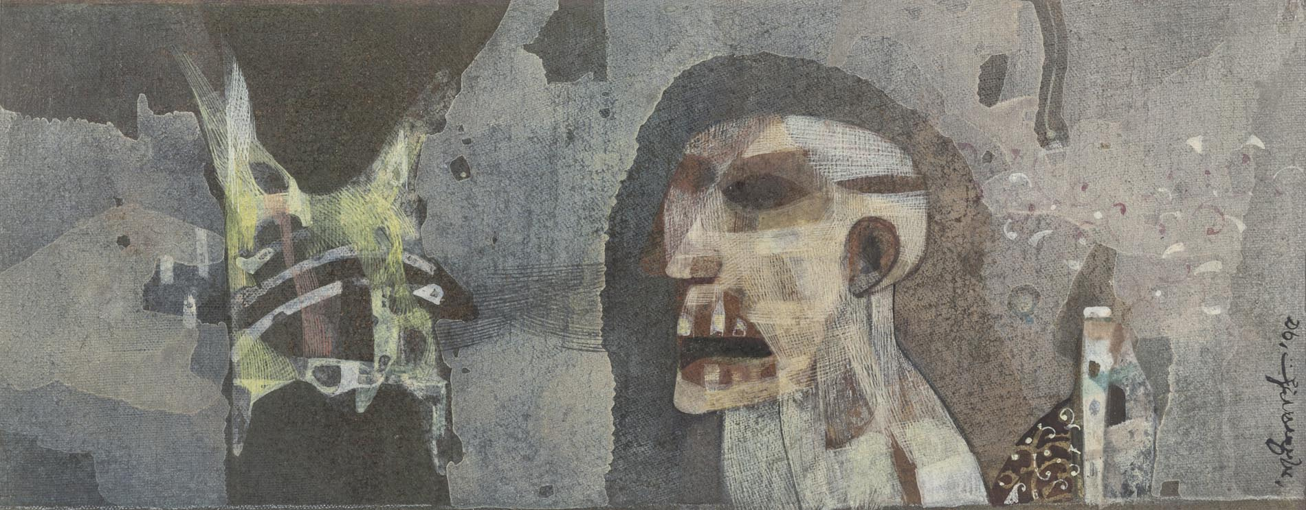 over the edge, crossing the line - five artists from Bengal